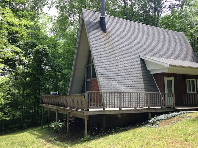 house on wooded lot @ Peek'nPeak ski & golf resort - Clymer - 小木屋