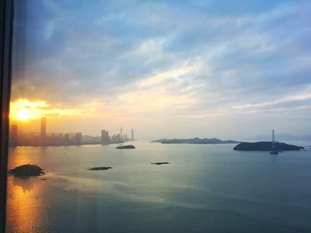 Invincible sea view apartment - Xiamen - Service appartement