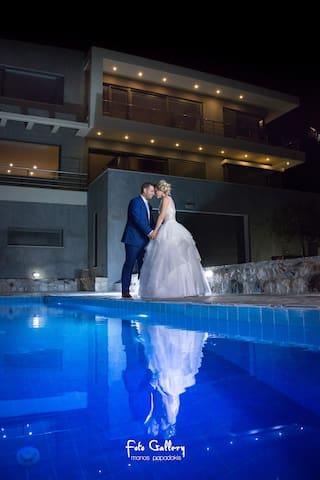 # ❤️De Luxe Villa*Pool*8 per*Panoramic Sea View - Ep. Odos Rousas Adravasti Rousa Ekklisia Sitia Lasithi Crete - Vila
