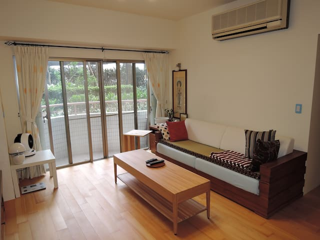 Double private room , airport pick up service - Taoyuan District - アパート