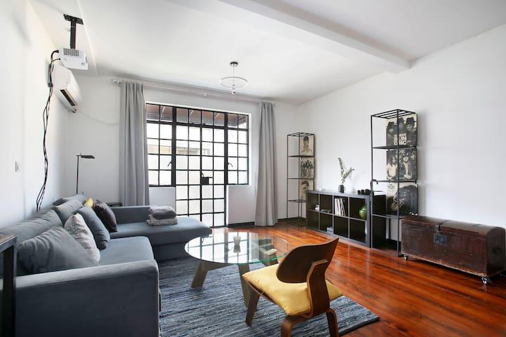 French Concession Designer Terrace Lanehouse - Shanghai - Apartemen