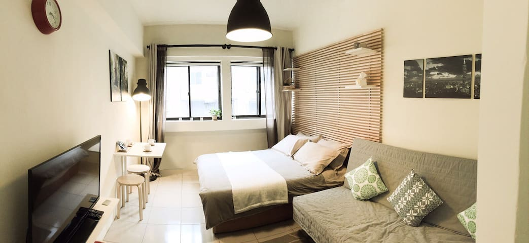 Quiet Lovely City Center Apartment 91476 - Zhongshan District - Appartement
