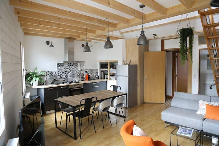 Loire Escale - Duplex côté château - Ancenis - Apartamento
