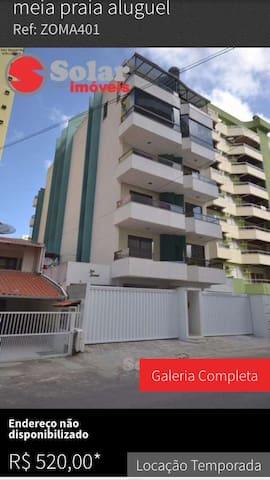 Conforto de sua casa por 150,00 diaria - Itapema - Appartement
