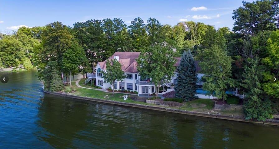Mansion on Geist Lake / Reservoir: NE Indianapolis - Indianapolis - Casa