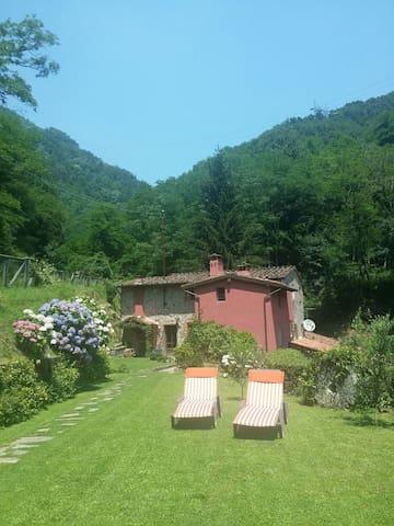 Total relax in collina sul torrente - Valgiano - Villa