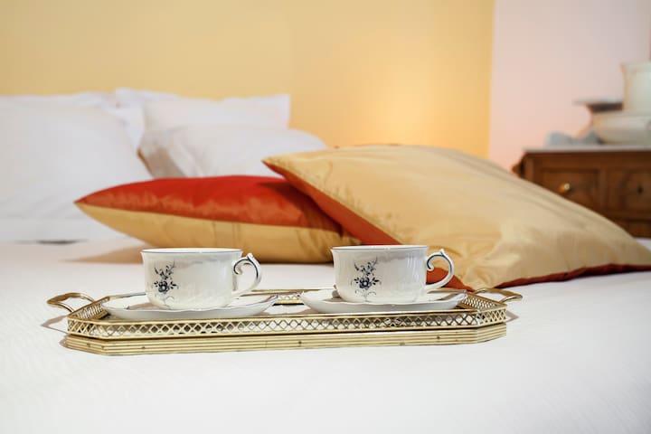 Le Verger du Pierroy chambre Mirabelle Poire - Léglise - Bed & Breakfast