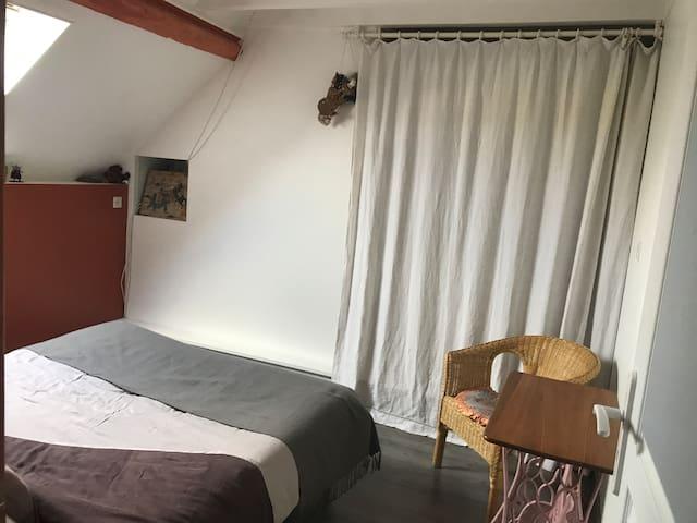 Chambre au centre ville - Nogent-sur-Seine - Dom