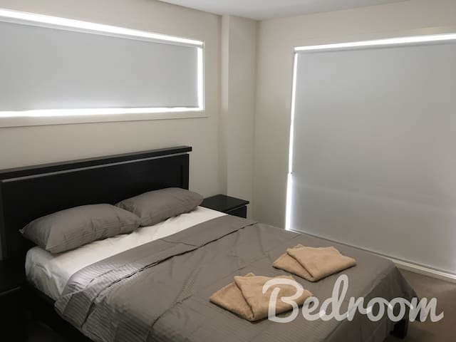 furnished apartment 1 queen bed quiet location - Harrison - Apartament