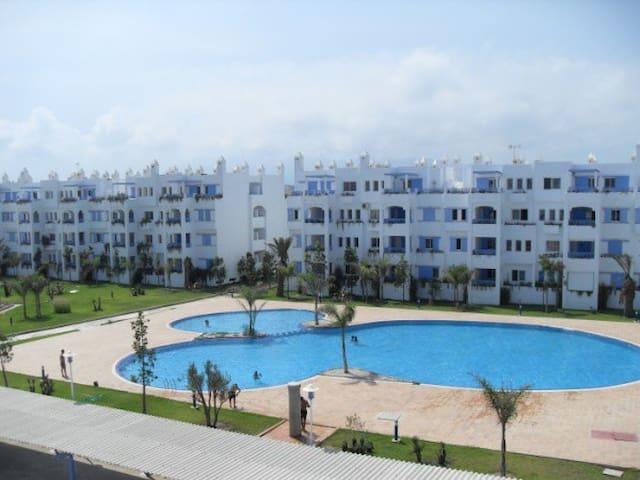 Appartement en front de mer à Sania plage - M'diq - Apartamento
