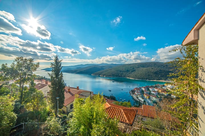 Apartments Mirta / One bedroom A3 AGAVA - Rabac - Daire