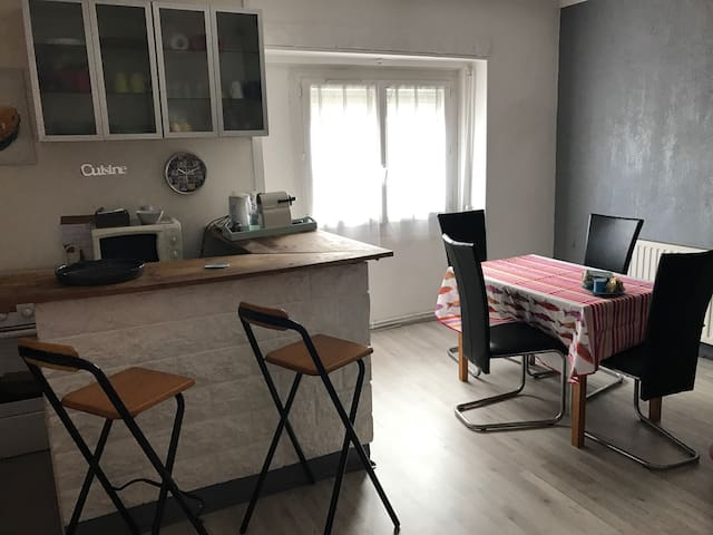 Welcome to our flat near Lyon,airport,trade fair. - Saint-Priest - Departamento