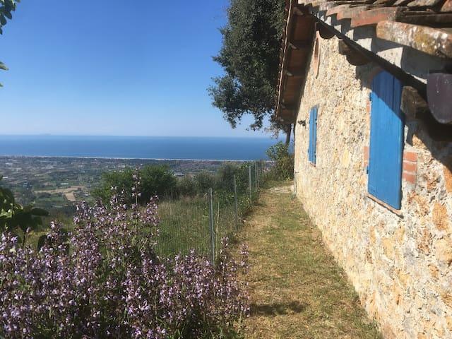 incantevole rustico vista mare - Capezzano - Huis