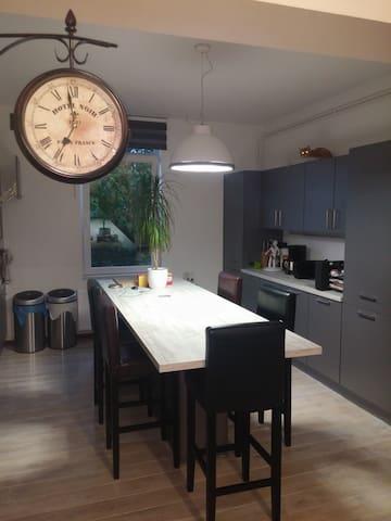 Bel appartement au calme sur Soignies - Soignies - Apartamento