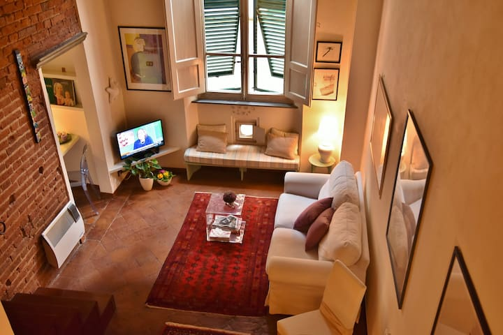 """Olivia"", loft in historical center - Lucca"