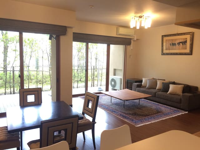 Cozy spacious flat - Karuizawa-machi - Apartament