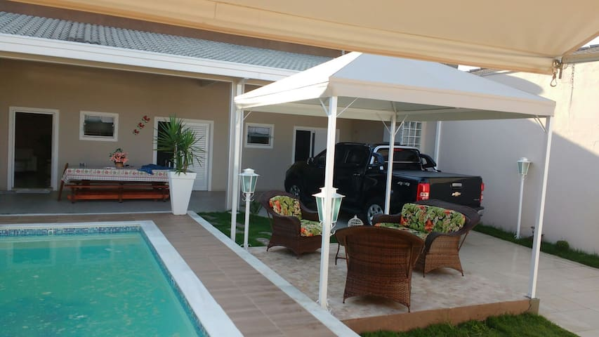 Praia do Indaía c/ piscina!!!Somente para familia - Caraguatatuba - Maison