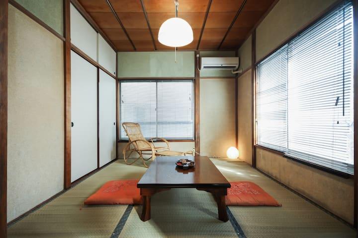 Ikebukuro tatami apartment A, public bath, wi-fi - Toshima-ku - Daire