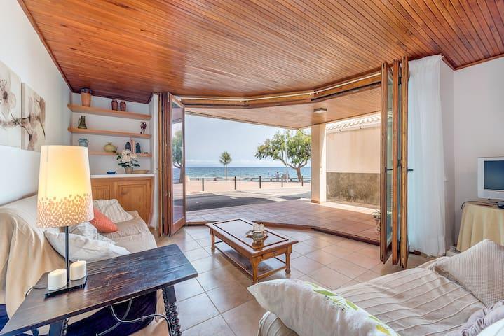 First line, Sea views! - Colonia de Sant Pere - Daire