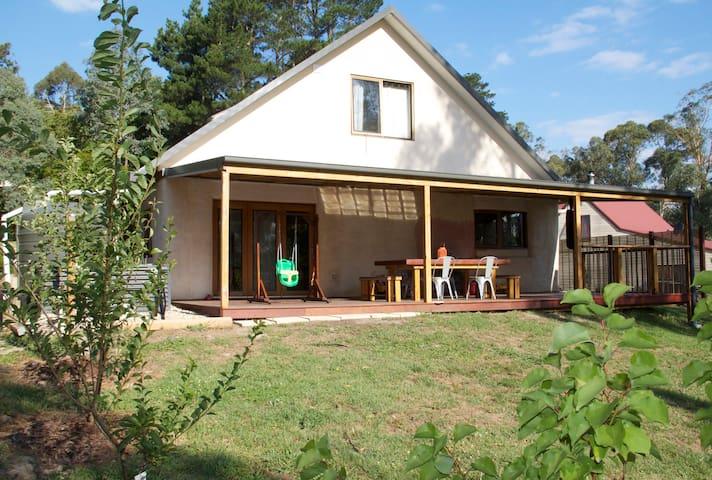 Straw Bale House in Healesville - Healesville