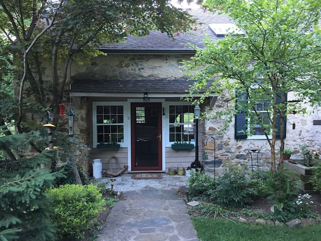 STUNNING HISTORIC 1791 STONE RIVER FRONT HOME - Mount Olive Township - Hus