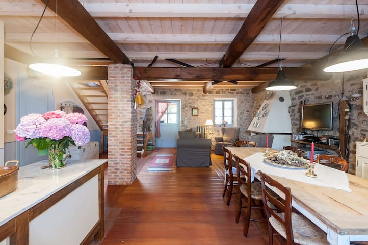 Typical Tuscan Country House - Regnano - Vila