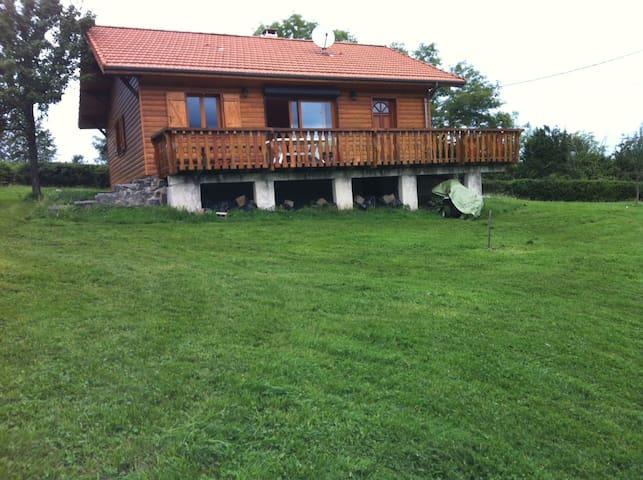 Chalet en bois de montagne - Arbon - Chalet