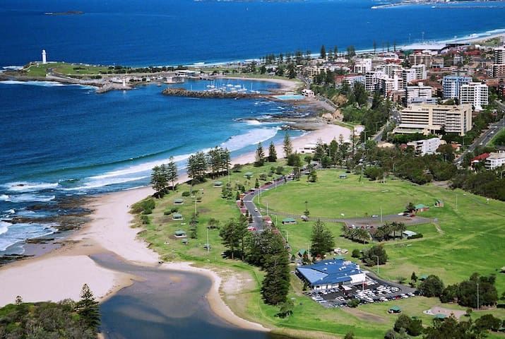 Cosy clean 2BR, close to North Wollongong beach - North Wollongong - Leilighet