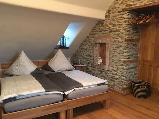 Wohnen im historischen Gemäuer Nasingen/Eifel - Nasingen - Apartment