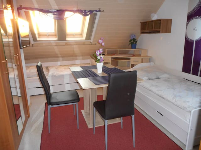 Appartement am Altmühlsee ca. 500 m für 2 Personen - Gunzenhausen - 公寓