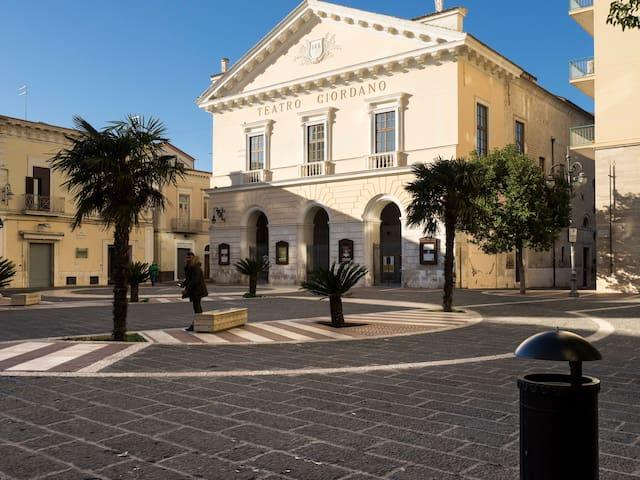 Casa autonoma al Teatro Giordano - Foggia