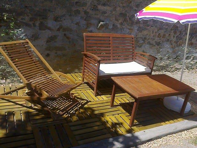 Grande chambre tout confort, au calme - Maisonnais-sur-Tardoire - Pousada