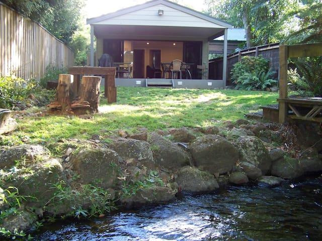 Rivers Edge Buxton - a tranquil river hideaway - Buxton - Casa de campo
