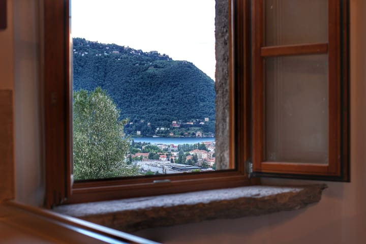 "Country House ""Cozzena"": Appartamento Refosco - Maslianico"