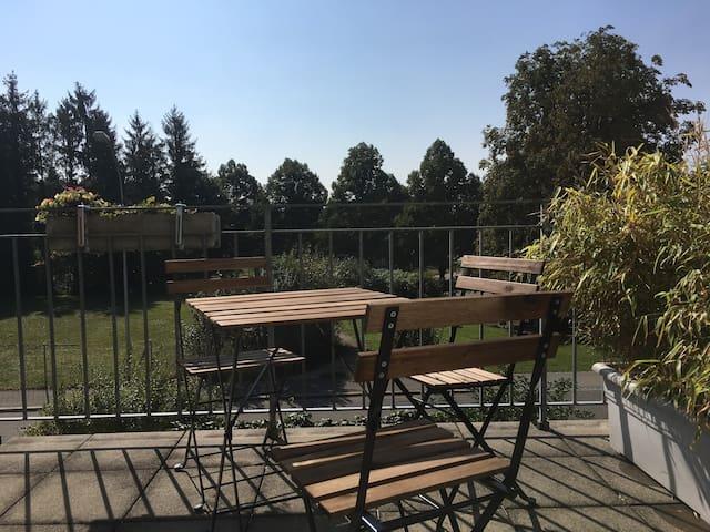 2 Zimmerwohnung mit Terrasse - Langendorf - Appartement