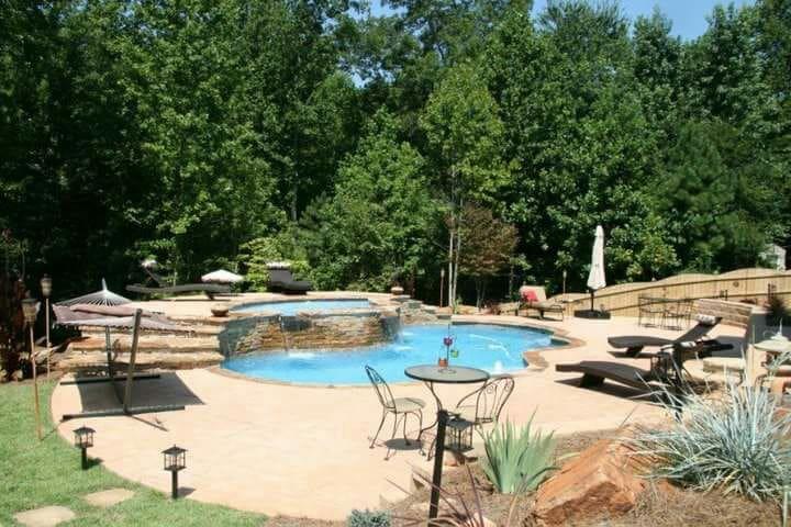 Romantic Private Getaway PoolOasis - Powder Springs - Andre