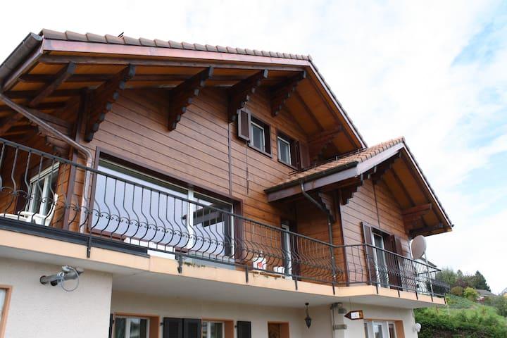Appartement au calme dans chalet - Granges (Veveyse) - Departamento