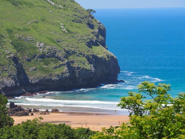 apart with Jacuzi in beach&mountain - Castro Urdiales - Leilighet
