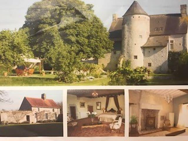 Beau manoir du 16ème siècle sur 8000m² de terrain - Écoquenéauville - Slott