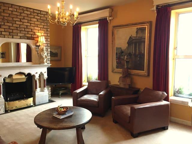 Georgian Irish flat in trendy Portobello - Dublin - Huoneisto