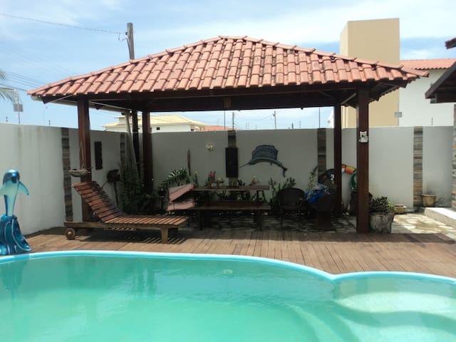 Excelente Casa na Belíssima Praia Ponta de Campina - Cabedelo - Hus