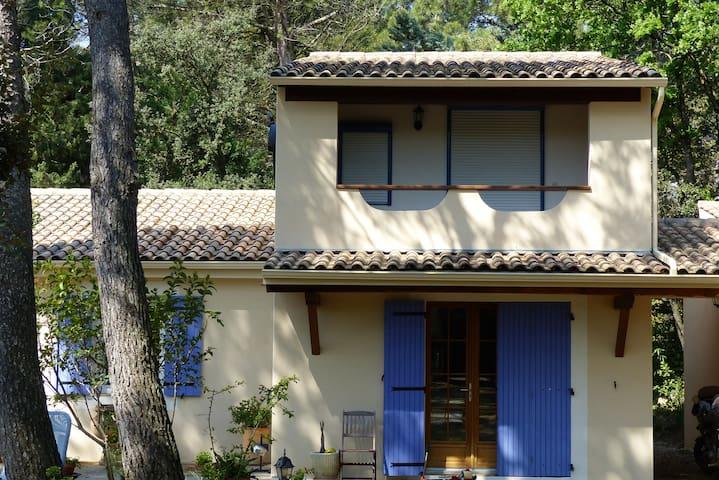 La maison bleue - Uchaux - 獨棟