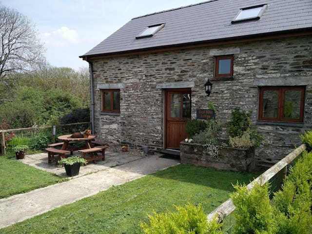Beautiful converted barn, in lovely rural setting - Newchapel - Maison