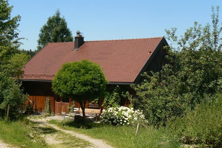 Urlaub zwischen Bergen und Seen Ökohaus - Sulzberg - Hus