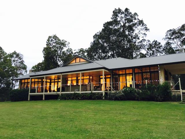 Bellaroo Farm, Beautiful Rural Retreat - Dooralong - Dům