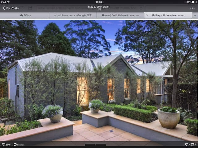 Welcome to the blue house - Turramurra