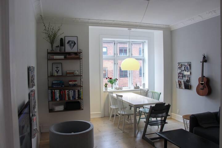 Familyfriendly home close to metro, city and beach - Copenhague - Departamento