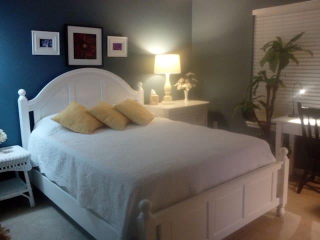 Lovely Cozy Master Bedroom/Bathroom Suite. - Orlando