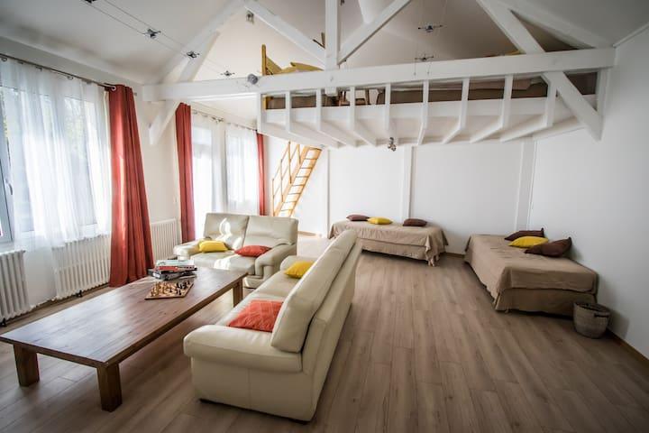 Duplex 70 m2 en pleine nature. - Bièvres - Andere