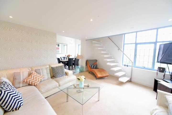 Luxury Quayside Penthouse With View - Gateshead - Departamento